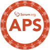 Scrumorg APS-badge
