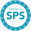 Scaled Professional Scrum badge