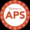 Scrumorg APS-badge